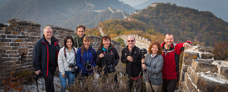 China great wall photo workshop