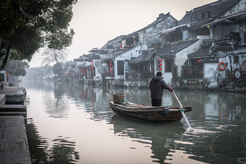Water Town China Photography