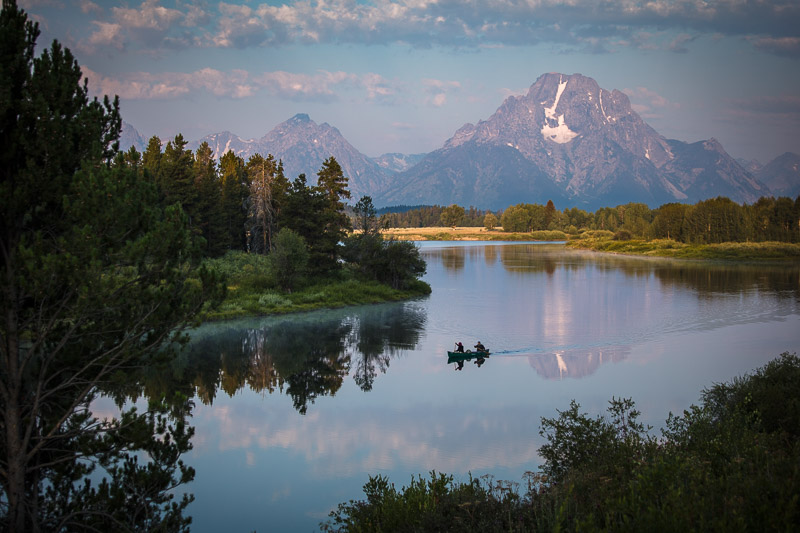 Oxbow Bend Grand Tetons